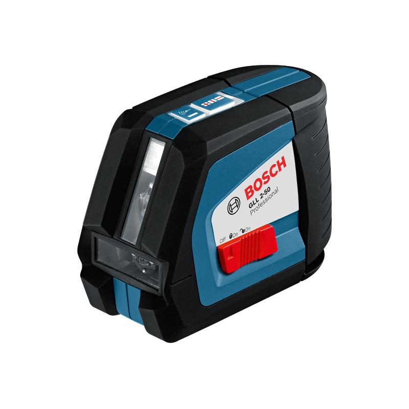 Bosch gll 2 50 professional niveau laser croix for Niveau laser bosch quigo 2
