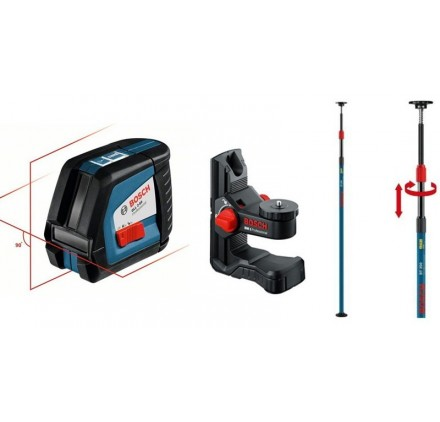 Laser croix GLL 2-50 + support BM1 + tige BT350