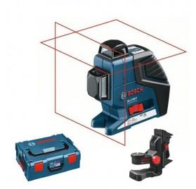 Pack Niveau laser Bosch GLL 2-80 P + support BM1 + Coffret L-BOXX