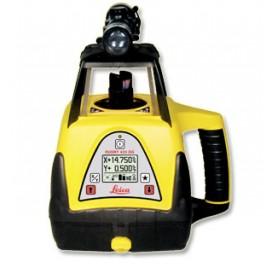 Laser rotatif double pente - Rugby 420DG - Laser Leica Rugby 420DG et cellule Rod Eye Plus