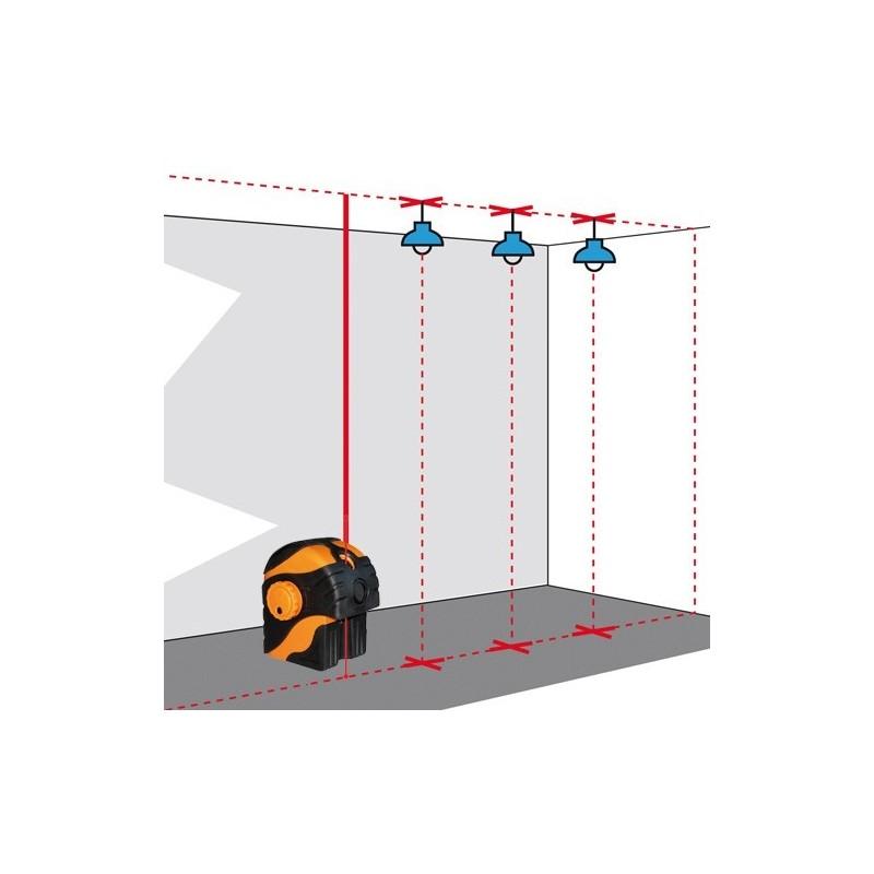 laser aplomb sol plafond duo pointeur geofennel
