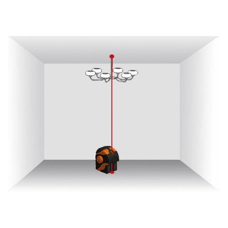 laser aplomb sol et plafond geofennel duo pointeur
