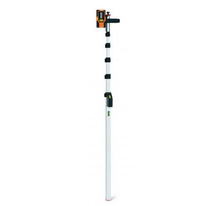 Laser Easyfix 5m - Canne de mesure 5 metres avec adaptateur pour cellule laser