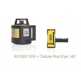 Laser rotatif Rugby 820 LEICA + cellule laser Rod Eye 140