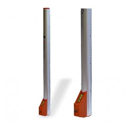 Canne mesureuse télescopique 3m MESSFIX Compact 3m