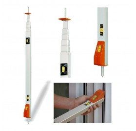 Mesureur fenetre - Volet roulant - Canne 3 metres Messfix à pointes