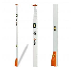 Canne mesure télescopique MESSFIX 5 metres en étui