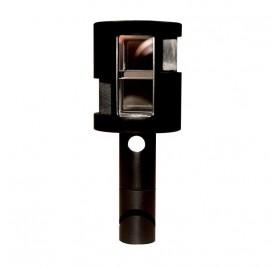 Equerre optique F10 Geofennel métal Vue verticale Précision 2'