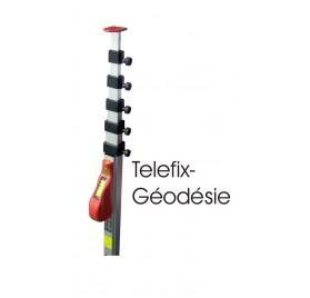 TELEFIX 5G - Canne de mesure a réglage TELEFIX 5m Géodésie