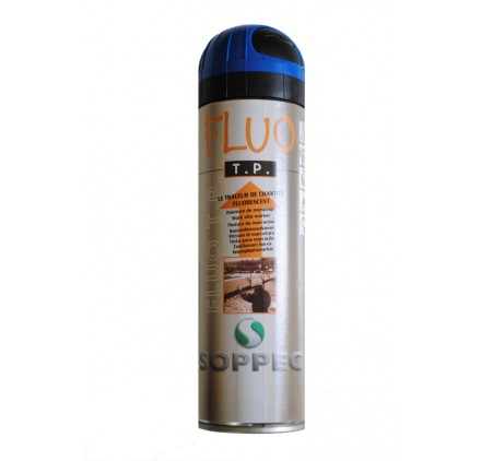 FLUO TP BLEU SOPPEC - Traceur de chantier bleu Fluo - Unité