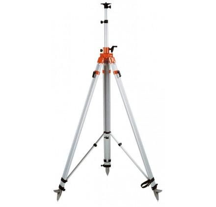 Trépied à crémaillere pour Laser Guidage d'Engin NEDO 5/8'' - 177/400cm