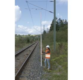 Mire en fibre de verre Nedo 7.60m - 1.68m/7.60m