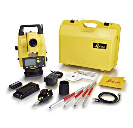 Station totale Builder 505 Leica