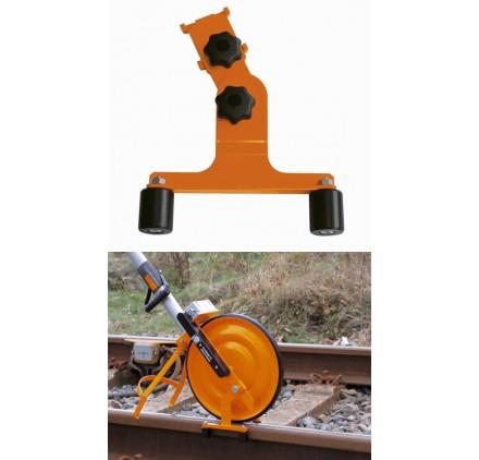 Guide Rail Voie chemin de fer pour Roue de mesure odomètre SUPER Nedo