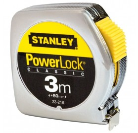 Metre Ruban de Mesure STANLEY POWERLOCK - 3mx19mm