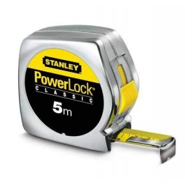 Metre Ruban de Mesure POWERLOCK STANLEY - 5mx19mm