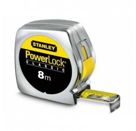 Metre Ruban de Mesure STANLEY POWERLOCK 8mx25mm