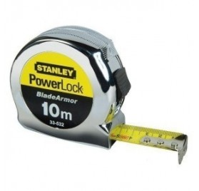 Metre Ruban de Mesure STANLEY POWERLOCK 10mx25mm
