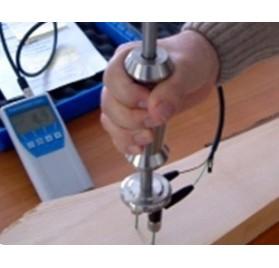 Appareil de mesure d'humidité pour bois rond et bois fendu