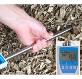 Humidimètre pour plaquettes de bois, scierie, forestieres et bocageres Humitest