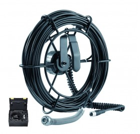 PIPECONTROL MOBILE-CAMERA - Caméra tete 25mm+Câble 20m+protection tete caméra