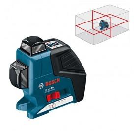 Laser Bosch 360 GLL 2-80 P 2 lignes livré en housse