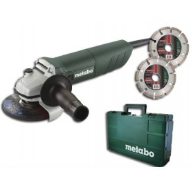 Meuleuse 125mm W820-125 METABO + 2 disques diamant