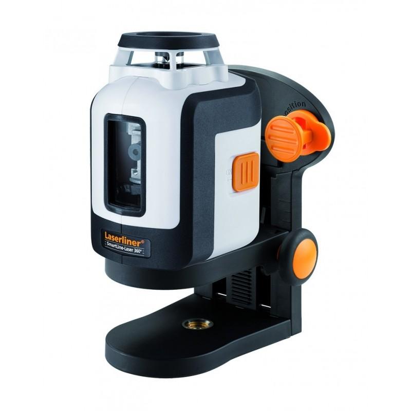 Niveau laser ligne 360 degr s laserliner smartline laser 360 for Niveau laser stanley 360