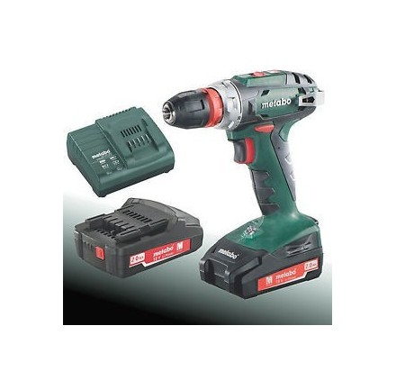 Metabo bs 18 quick perceuse visseuse sans fil 18v - Perceuse sans fil 18v ...