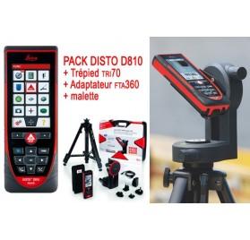 Télémetre LEICA Disto D810 avec trépied et adaptateur