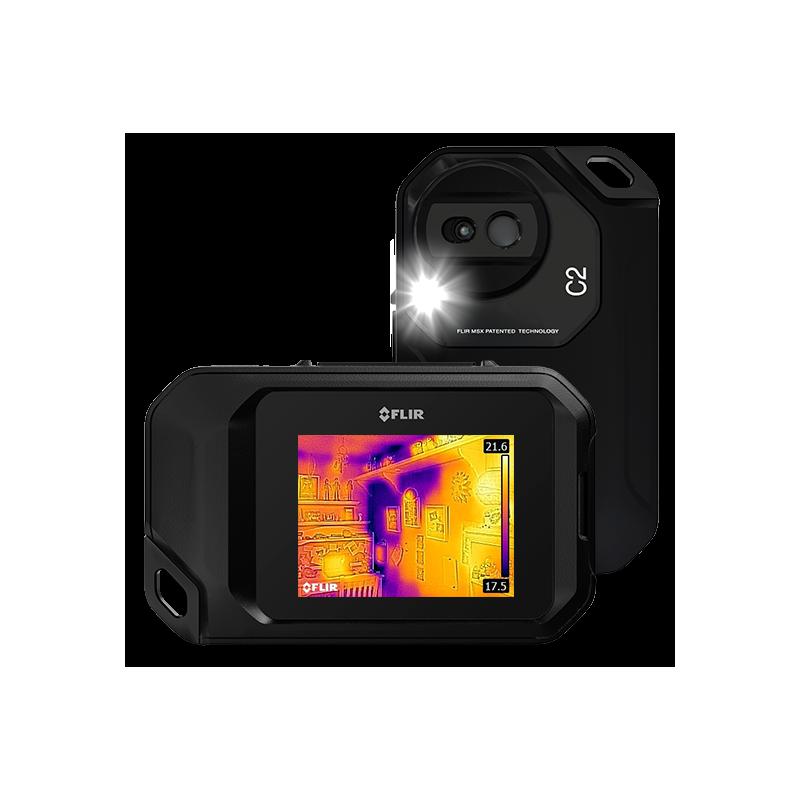 camera thermique flir c2 compacte avec cran tactile. Black Bedroom Furniture Sets. Home Design Ideas