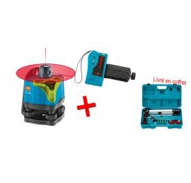 Pack laser rotatif EL 503 + Cellule détection Laser Sensolite 120 Geofennel écoline