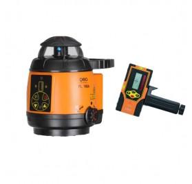 Laser rotatif automatique professionnel FL 180A Geofennel avec cellule et batteries