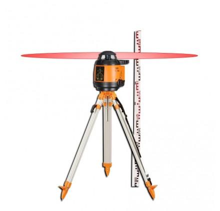 Laser rotatif automatique FL 180A Geofennel + Trépied a colonne et mire offerts!