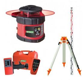 Pack laser automatique rotatif METRICA ROTATIVO H + Trépied et mire