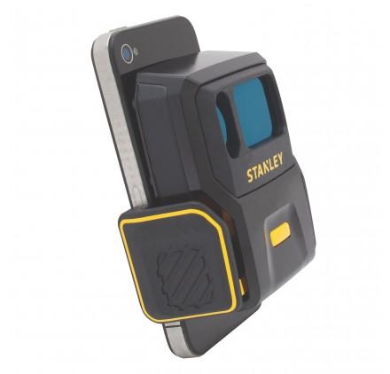 T l m tre laser pour t l phone portable smart measure pro stanley - Telemetre laser stanley ...