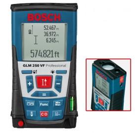 Télémètre Laser GLM 250 VF BOSCH Professional + Trépied photo BT 150