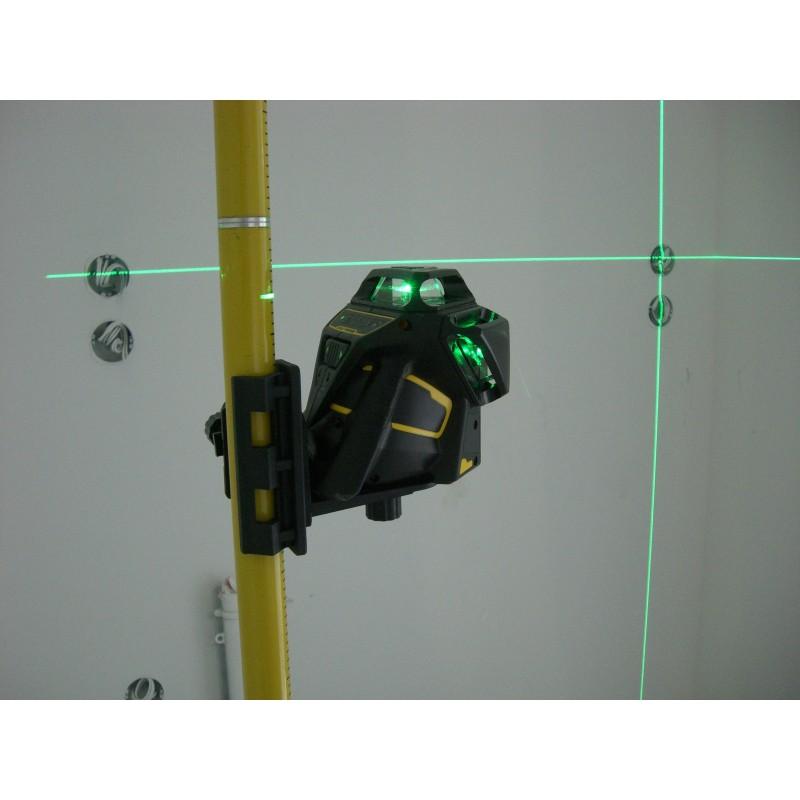 Stanley x3 360 green niveau laser vert multilignes automatique for Niveau laser stanley 360