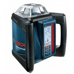 Laser automatique simple pente BOSCH GRL 500 H + Talkie-Walkie et parka offerts!