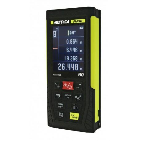 Télémetre Laser professionnel METRICA Flash 60