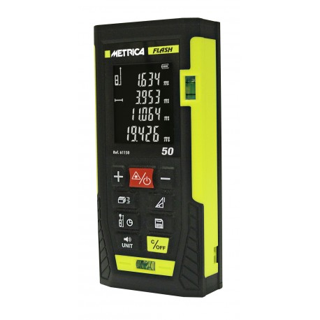 Télémètre professionnel METRICA Flash 50