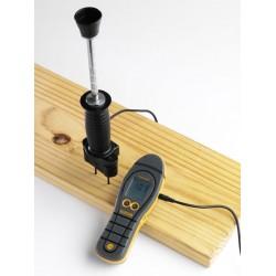 Détecteur d'humidité professionnel pour le bois TIMB marteau à électrodes