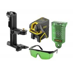 Laser croix vert 2 lignes avec 2 points SCPG-2 Stanley