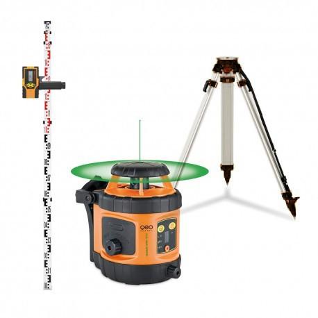 Laser rotatif automatique vert FLG 190 A Geofennel avec cellule