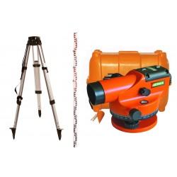 Pack niveau optique automatique de chantier CAL 32 Metrica