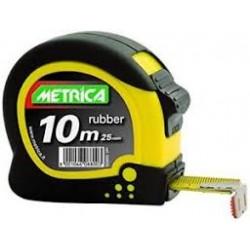 Ruban rubber 10m x 25mm METRICA