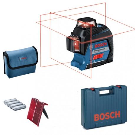 Laser Multi-lignes GLL 3-80 Bosch en coffret