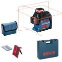 Laser Multi-lignes GLL 3-80 Bosch avec BM 1 Plus en coffret !