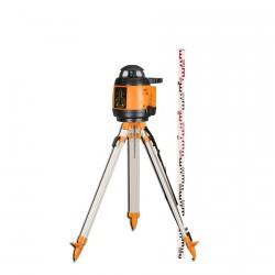 Laser rotatif automatique FL 180A Geofennel avec cellule, tépied et mire