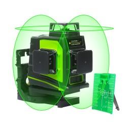 Laser 3 lignes 360°-3D vert Plane laser